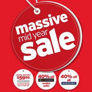 Massive Mid-Year Sale catalogue out now