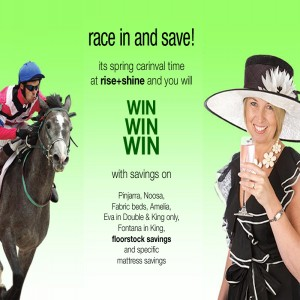 race in and save!