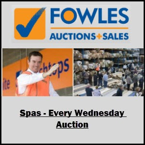 Fowles Extended SALE on SPA'S!