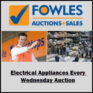 Fowles Extended SALE on ELECTRICAL APPLIANCES!