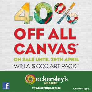 Eckersleys April Sale on now!