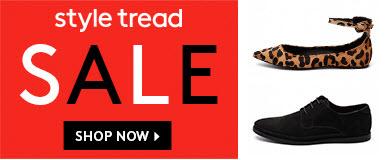 style tread shoe sales